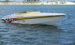 2002 Donzi 28 ZX This 2002 Donzi ZF is in excellent condition and is ready to go! This is a perfect boat for the many poker runs around the Gulf Coast. This boat rides like a dream and her top speed is 72 MPH. Risky Business has many noteable options