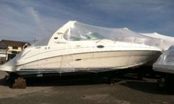 2004 Sea Ray 280 SUNDANCER Delivered as new to her current owner by MarineMax, NY, this very desirable and highly sought after Sea Ray 280 Sundancer has it all and has been perfectly maintained. With a color scheme of a white hull and white top deck with