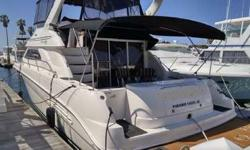 Just Listed - Loaded!45' Sea Ray 450 Express Bridge 2000 for sale in San Diego.The 450 Sea Ray Express Bridge is one of the roomiest 45? vessels on the market today with 3 private staterooms. Loaded with amenities including air-conditioning throughout,