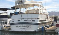 ( ( Request an Info. Packet ) ) ? It?s everything we have on the boat! More Information, more photos of higher quality. ? 1985? US $64,950 & No NV. State Sales Tax To Pay? Located in Lake Mead, NV.? Beautifully Maintained Luxurious Freshwater Yacht ? At
