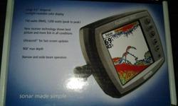 Garmin Fishfinder 160C w/transducer, speed sensor & flush mount kit Brand New in Packaging