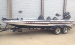 2011 Bass Cat Boats Puma FTD This bass boat is like Brand New. Only 110 hours on Mercury Pro XS 250 hp Engine, Guide Tour 109 edition 36 volt. Hummingbird console 998c and Hummingbird buoy 798 CIHD. Custom tandem axle trailer to match boat. Boat is rigged
