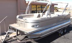http://www.gotwaterrentals.com/Avalon_Catalina_Cruise_22_2013.html Find fun and excitement in this simpler version, top quality Deco inspired pontoon boat. Catalina?s top end looks will make its affordability surprise you. This boat has solid structure