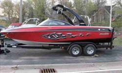 2007 Malibu 21 WAKESETTER VLX For more information please call