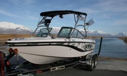 This hard to find camo boat can be yours. This Super Air Nautique 210 Team is looking for a new home. It has all you need. Tower speaker, bimini, snap on covers, cruise control, heater and more. All this being pushed by the PCM Excalibur 330hp power plant
