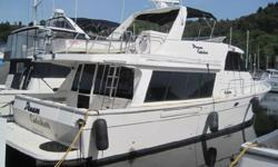 Owner must sell and is willing to look at any reasonable offer. This boat is an excellent example of this popular Northwest Pilothouse design. Spacious cockpit area entering into beautiful salon with galley forward on same level. Continue forward down