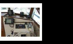 Hardtop, fully enclosed, A Serious ALL weather yacht, Rigged for fishing, from the sound to the canyons, in comfort..! Pulpit, upper control station,(marlin tower) Full electronics, radar Gps etc, eighteen 'Lee senior Outriggers, Custon Tackle Lockers