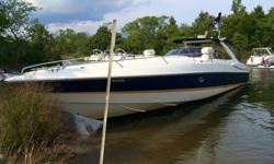 1998 sunseeker superhawk 48. -spent most of its life in lake Ozark Missouri (fresh water). -only 2 seasons in the salt water of nj. -all options offered in 1998. -stateroom-head with sink/shower-kohler generator-bow thruster-horn-winshield wiper-double