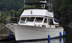 """Always in style, this classic Ed Monk design in Tolly-solid construction has many recent upgrades and life-long proper maintenance -- a sought-after NW cruiser! Cosmetically excellent, functionally """"ready-to-go"""" -- Since purchase in 2010, this owner has"""