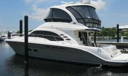 2006 Sea Ray 52 SEDAN BRIDGE This is an exceptional 52 Sea Ray Sedan. The boat is loaded with options and upgrades and has been professionaly maintained. She is offered for sale by the original owner and only has 345 hours! This boat is truly turn key and
