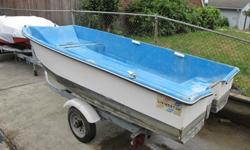 Great older 1974 Livingston Dinghy. Includes Oars. Complete with Washington title. No trailer available - Boat Only. Fits in most pick-up trucks.Email to buy it.SE PDXPlease note: The trailer it's sitting on goes to another boat.