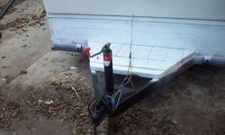Very nice trailer 6.6-9.6 snowmobile or utility Built with a ramp ,trade for fishing boat ,or nise motor 6hp-20 horsepower or sale $500or BEST OFFER. If you need more info, please call 262-902-7911Listing originally posted at http