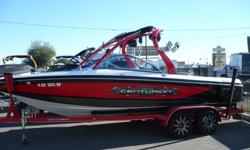 2009 Centurion Elite V Air Warrior Only $49,000Centurion left its most memorable mark on the water sports industry with the introduction of the first V drive towboat. More than two decades later, that icon has evolved into the Elite V C4. That impressive
