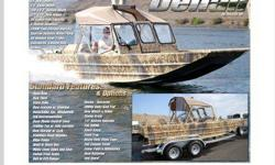 2009 Thunder Jet Denali. 20? in length with a 7?6? beam Powered by a 200 HORSEPOWER Mercury Optimax inboard motor Fuel capacity of 48 gallons. 6 Degrees Deadrise Equipped with the UHMW Delta Keel Pad Designed with a tunnel hull that allows the Denali to
