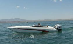 Very clean Mach 26. Always garage kept. Below is a description of the boat with all the various options I have added. Motors- Both outboards have been rebuilt by Simon Motorsports in San Diego. I added lightened flywheels, exhaust bypass and milled heads.