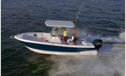 $49,500, WHITE, PRE-TRADE IN LISTING FOR OWNER.POWERED BY A MERCURY 250 HORSEPOWER VERADO 4 STROKEENGINE WITH WARRANTIES FOR BALANCE OF FIVE YEARS.OWNER PRE-OWNED FOR 1 SEASON.OPTIONS INCLUDE TOURNAMENT PACKAGE, INCLUDES T-TOP WITH STEREO, HEAD WITH