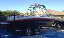 **** New Arrival!**** 2007 Air Nautique 236 Team Edition Only $49,990... Super Low Hours 223 ..... PCM ZR6 390hp.... Excellent Condition Inside and Out!...... Always Stored Indoors...... Stereo Upgrade...... Swivel Board Racks...... Storage Cover.....