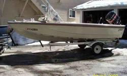 """1965 Glasspar 15'10"""" w/ trailer & mercury outboard motor Lounge seats, full canvas top w/ windows, glove box, speedometer, tilt steering, 1 owner, always garaged, excellent condition, and ready for the water. 1968 Mercuriy Outboard 125 horse w/ tilt &"""