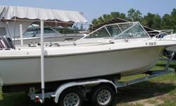For sale is a 1979 Wellcraft 21? cuddy cabin in great shape. Fully serviced including new water pump. Owned by a mechanic, and has been well taken care of. Features include