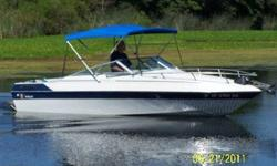 1985 Wellcraft 192 American cuddy cabin Mercruiser engine and outdrive model 190 mercruiser 4 cylinder Closed cooling/antifreeze protected 30 hrs. since engine rebuilt anchor windlass,bimini top fish finder,am/fm/cd life jackets and fire ext. fishing rod