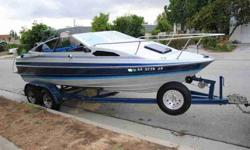 1989 Bayliner $4000 OBO 19ft Bayliner closed bow With a sleeper and window Great starter family boat, six persons 125 Force Outboard engine Bimimi top amfm stereo Interior needs a little work. . . Mike (818) 355-3818 (right front) (front) (left front)