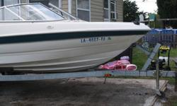 2000 Bayliner Fish/Ski Runaround 18' Boat & Trailor with a Mercury 125 Motor. $4000.00 Please email or call 225-405-1201. Thanks