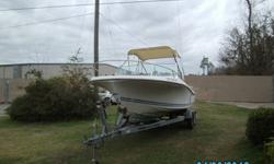 For Sale a 20 ft Wellcraft boat. Ready for the water. Comes with a 140 hp evenrude and a 15 hp kicker evenrude. Both engines run perfect. 140 has new lower end, new head gaskets and new water pump. Boat comes with Garmin Fishfinder with GPS. works great.