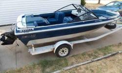 Very Nice Condt. 1987 Starline 17-Ft. Ski Boat, 140-Hp. Chevy I/O With Walk Tru 15-Pitch Power Prop. Looks & Runs Great $4000. 316-806-9208