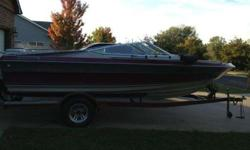1989 Maxum19 feet.305 Mercuier CruiserNew CarpertNew Wheels & TiresNew Biniki TopVery Clean Boat!If interested text or call 316-213-5100Listing originally posted at http