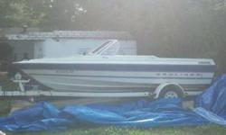 Selling my 1994 bayliner capri 1954 fish and ski the boat is in great shape. , the engine is a 3.0 litre mercruiser with alpha one outdrive, great economical powerful engine, the vinyl seats and carped are in good shape,. I keep this boat covered perfect