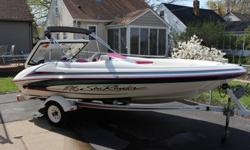 For Sale 1996 Sea Ray Sea Rayder F16 Mercury SportJet 120 Hp 16' Jet Boat Excellent Condition For $4200New Alpine Speakers, Sony Cd Player, Battery, New Impeller, Wear Ring!This Boat Turns On A Dime And Go's Pretty Fast Seats 5 And Can Pull A 200lb Guy On