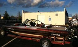 Clean 90 Stratos Fish & Ski. 150 Evinrude XP with four blade 21 pitch propeller. Electric Jack plate, 2 live wells , ski & fishing pole storage, four dry boxes, three bank battery charger, two ice coolers, walk-tru windshield, ski tow bar, pop-out bass