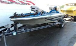 YOU CAN'T PUT A PRICE ON FUN IN THE SUN ! ! ! THIS 1989 ASTROGLASS 166 FISHING BOAT IS READY FOR THE WATER AND WILL PROVIDE COUNTLESS HOURS OF LAKE FUN, NOT TO MENTION IT COMES WITH A MATCHING TRAILER. POWERED BY A 1988 115 MERCURY OUTBOARD IT RUNS SMOOTH