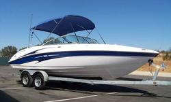 2004 YAMAHA SX230 LOADED!TWIN ENGINES!280 HORSEPOWER 60 MPH!! BIMINI TOP SEATS 10!THIS IS A BEAUTIFUL, WELL BUILT, 2004 23 FOOT BOAT BUILT BY YAMAHA. IT IS EQUIPPED WITH SEVERAL OPTIONS AND IS READY TO GO...SO WHY PAY FOR A NEW ONE? THIS BOAT RUNS AND