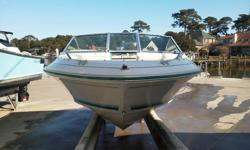 My 1994 Sea Ray 170 SS with TrailerIs looking for a new home! Gon'Green Fun first boat! She is in Dry Storage at Marina Shores Free From Hurricane Sandy!Has a Lowrance model # X47EX fishfinder and Depth sounding sonar! Runs Great pull a Tube go fishing