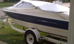 I have a 1996 Bayliner Capri that I am looking to sell. This boat is 17.5 ft with a 4 cyl inboard. Will run forever on a full tank of gas. I will even throw in a few life jackets, anchor, new speakers, and a few other items. Boat runs great and have had