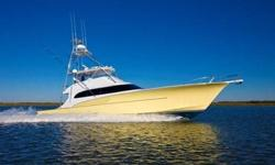 """Freedom"""" is the best of both worlds. A large, yet nimble, serious sportfishing yacht that is at home on the blue water fishing grounds along with extended cruising trips to remote parts of the world."""