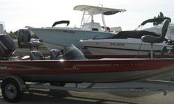 Bass anglers looking for a great running, great fishing aluminum boat should check out Triton's VT 19. These all welded bass rigs deliver hot performance with less horsepower, making them the perfect antidote for today's high fuel prices. The VT 19 rates