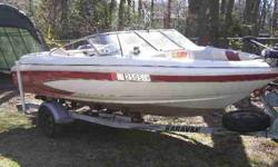 3.0Litre 135HP four cyl Volvo Penta inboard outboard, with the Volvo SX outdrive, Comes with Minnkota trolling engine, Great boat for the watersportscruising and fishing, Built in live well, tackle box and fishing pole holders, Lots of storage, Runs good,