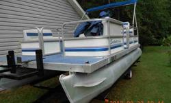 Pontoon Boat. eighteen feet. 40hp Yamaha Runs great. 2011 single axle drive-on trailer. $4500. CASH. Call 706-863-0597 $4,500.00 706-863-0597 cash, no pay pal, no bs, no email. .See item listed at http
