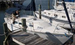 1980 Catalina Sailboat - 25ft. Full keel; 4.5ft draft; 3 year old sails; roller furling; bimini; 2006 9.9HP Mariner engine; AM/FM Stereo with CD player and IPod connection; Portable toilet; sleeps 6 - Call Greg at 251.504.9224. Priced below NADA value of
