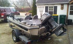 1989 Ranger 320 volt,100 horse Johnson g.t.,bunk trailer,55 pound thrust minnkota trolling engine with auto pilot,6 scotty rod holders,cover,bicycle seat(not in images)locking rod & tackle storage,live wells(2),bilge pump,kicker mount,1 deep cycle