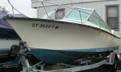 Very desirable Potter Built 20? 1975 Sea Craft Sceptre project boat with original OMC I/O located in Norwalk, CT. This Sea Craft Sceptre features the legendary variable plane 24? dead rise, stepped deep vee hull designed by Carl Moesly.For veteran