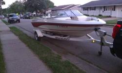 93 Monterey with 3.0 runs great, trailer in great shape. newer tires. boat has cd player, depth gauge, new prop, great on gas, hull in great shape no fading. Ready to be put in the water. call or text563-542-6396 asking 4500