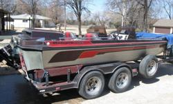 1989 395V I/O Ranger with Alpha one out drive. Boat is completely stock and in good shape. This is a very awesome and unique bass boat. Check out youtube video I attached that has a boat very similar. Email me questions or if you want to view it.