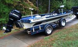 Ranger 374v bass boat with 200 Mercury and Minn Kota trolling motor. Comes with extra seats and several life jackets