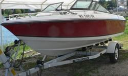 Very nice package, good shape and working condition. Great boat for cruising, tubing, and fishing. Easy size to trailer and maneuver. *Some wear on current chair upholstery, price includes NEW upholstery*. (Discount available if purchased ?as is? without
