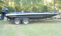 1995' 201 Stratos bass boat with a 200 Evinrude motor. Excellent condition..$4,500