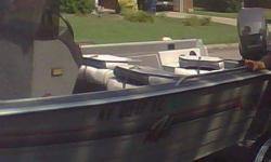 1990 Lowe 1680 Deep V Fishing Boat60hp Mariner Engine in good shapeBoat is in Super conditionLivewellNewer batteries2 6 Gallon Gas TanksCompact disc playerFoot Controlled Trolling engineTrailer in Terrific ShapeIncludes three Captains rotating seats which