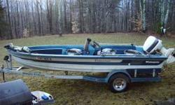 Hi, I have a 1989 17' Ranger Fisherman Series boat for sale with a 90 horse johnson. The boat has been in storage for quite a few years and I decided to sell it rather than keep it in the shed. It has a motorguide 12/24 v trolling engine and 3 new